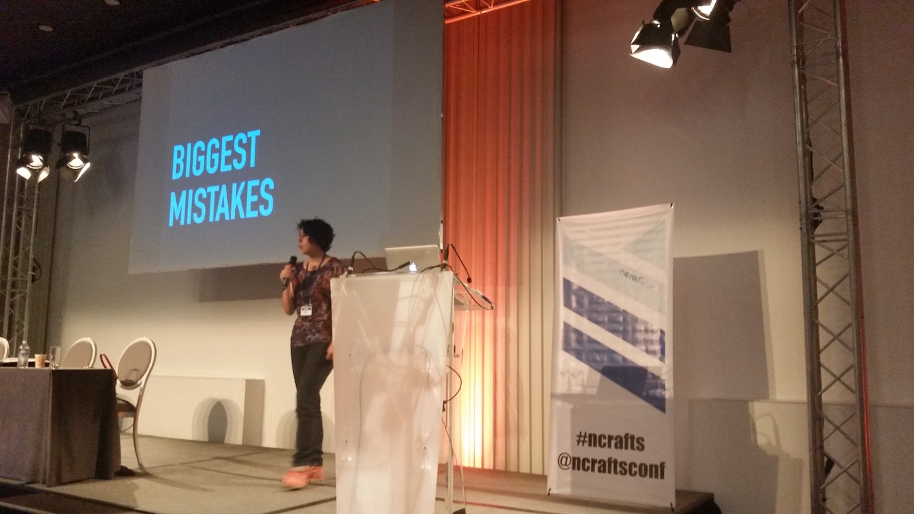 Slide stating 'Biggest Mistakes'